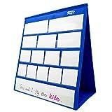 Tabletop Desktop Pocket Chart with Bonus 20X Dry