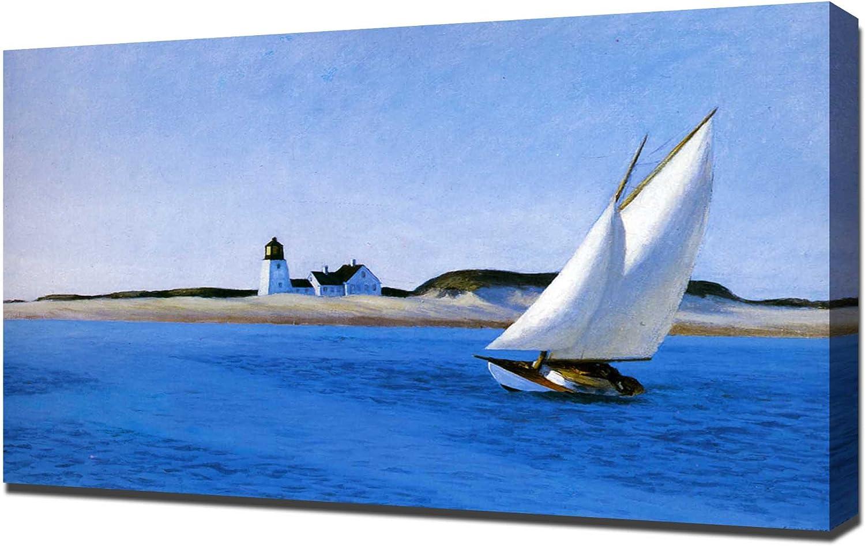 Edward Hopper - The Long Leg - Impresión En Lienzo