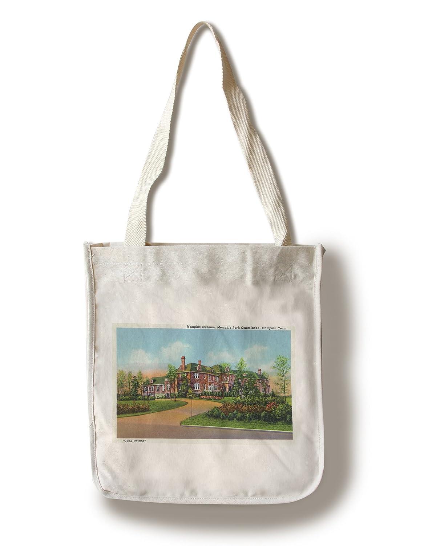 メンフィス、テネシー州 – Memphisメンフィス博物館の公園委員会、外側にビュー Canvas Tote Bag LANT-30487-TT B01841LLHW  Canvas Tote Bag