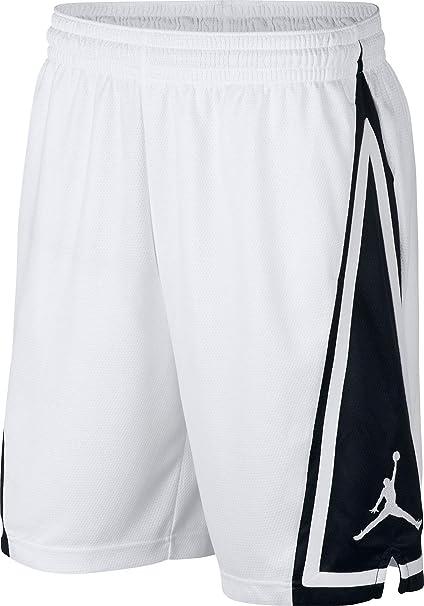 new concept 5db27 f07dd Nike Pantaloncino Uomo Jordan Franchise Bianco