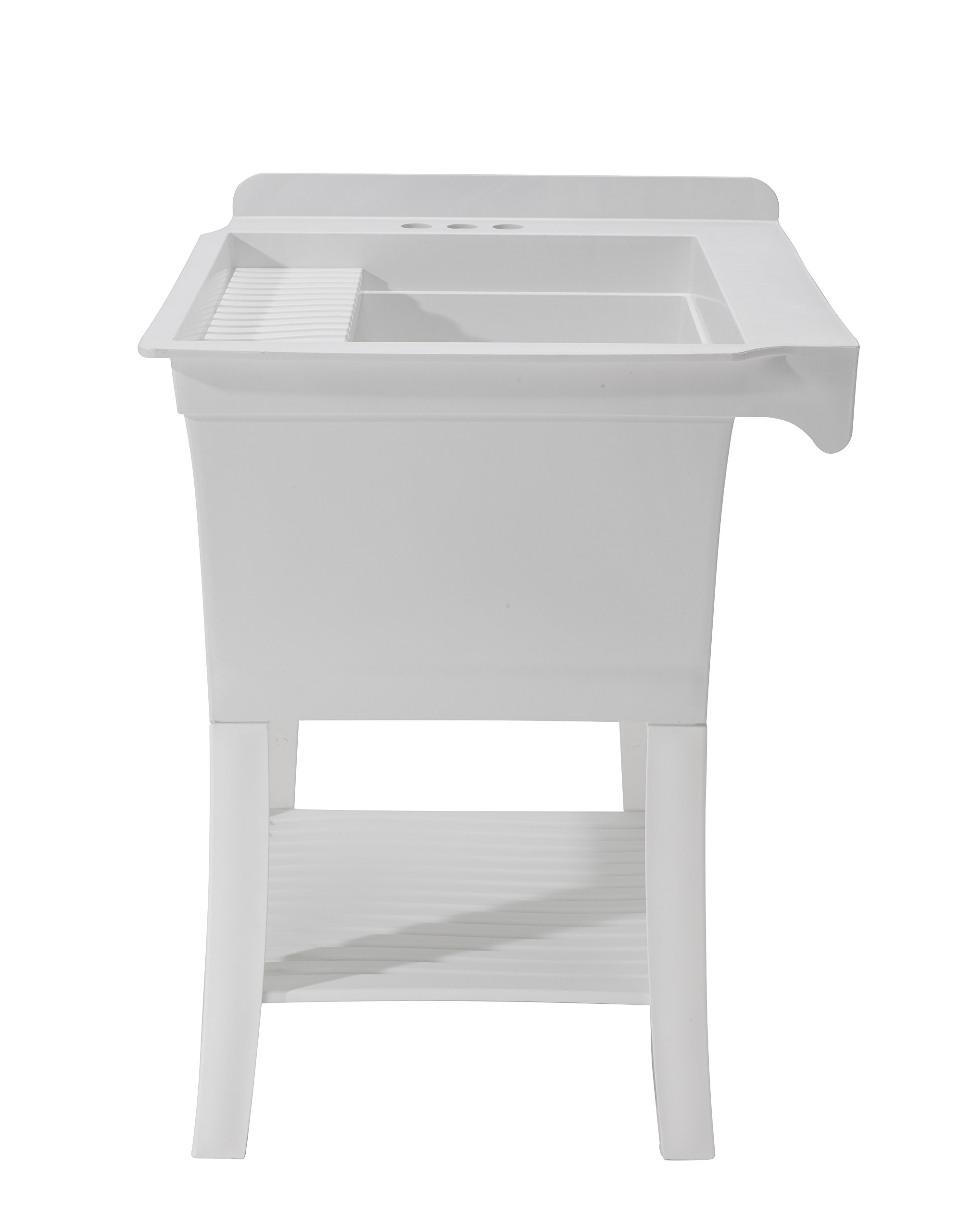 CASHEL 1980-30-01 The Maddox Workstation - Essential Sink Kit, White