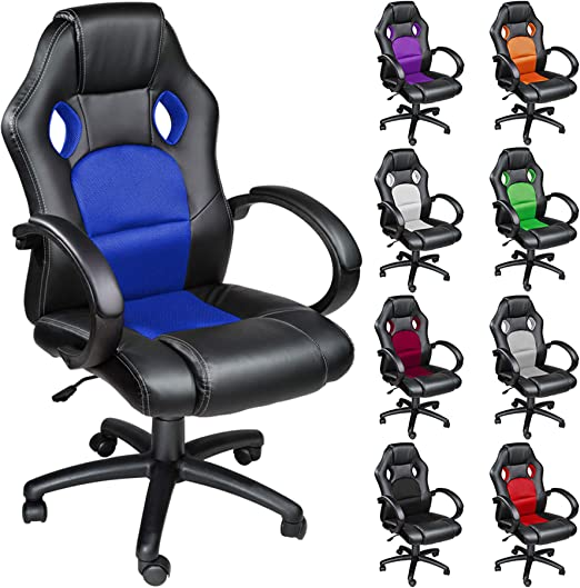 TecTake Silla de escritorio de oficina, Racing - disponible en ...