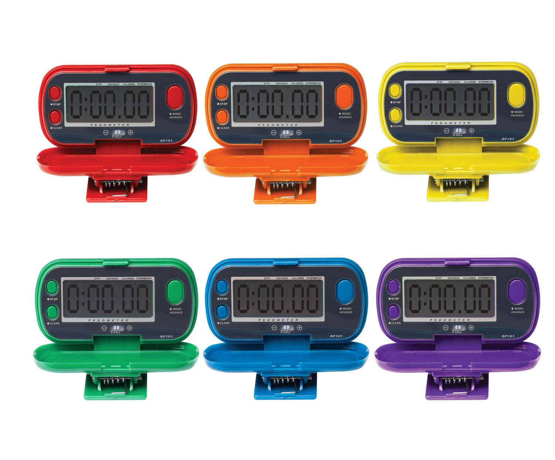 Champion Sports Digital Pedometer Set