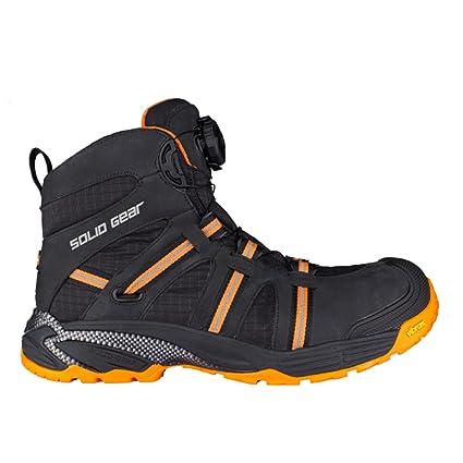 Solid Gear sg8000743 Phoenix GTX – Zapatos de seguridad S3 talla 43 NEGRO/NARANJA