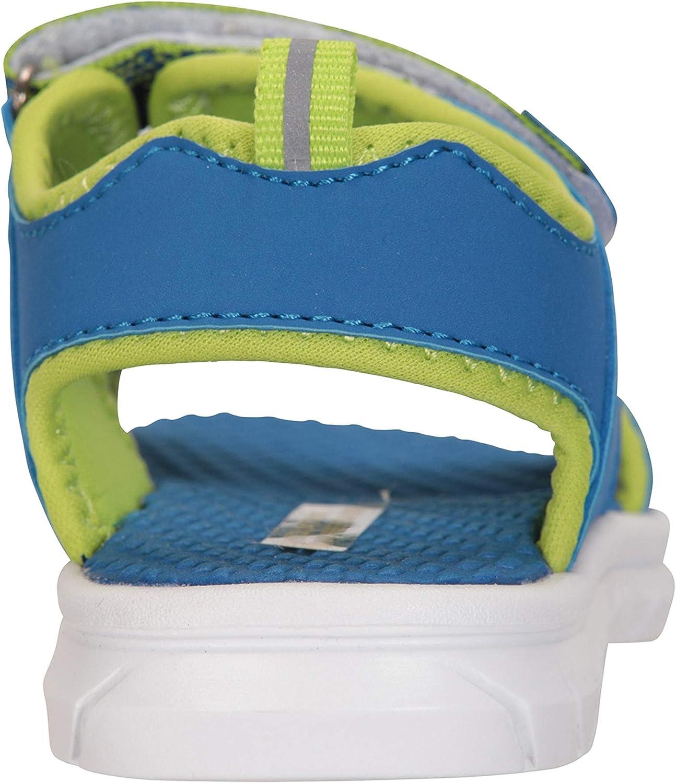 Viajar Mountain Warehouse Tide Junior Sandalias Zapatos de Verano de Neopreno para ni/ños de Secado r/ápido Ideal para Vacaciones Acampar Cierre de Velcro