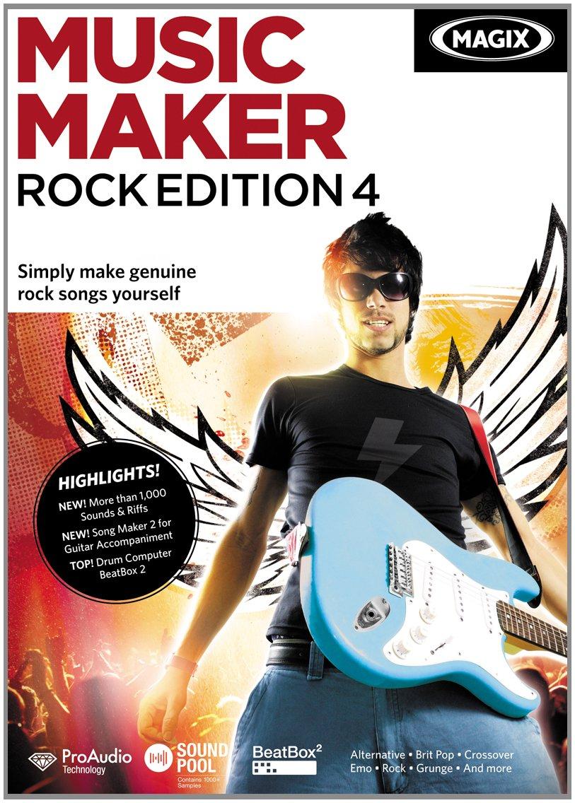 MAGIX Music Maker Rock Edition 4 [Download]: Amazon co uk