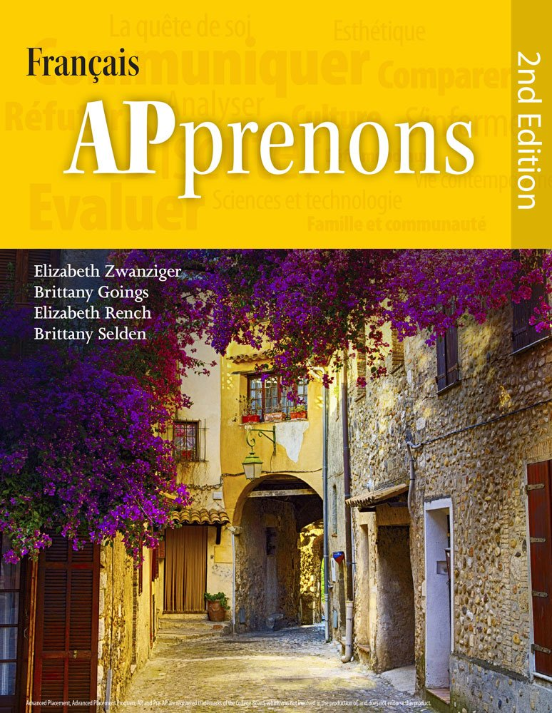 APprenons, 2nd Edition Hardcover (French Edition) by Wayside Publishing