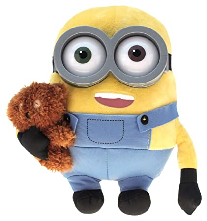 Minion Bob With Bear Plush 26cm