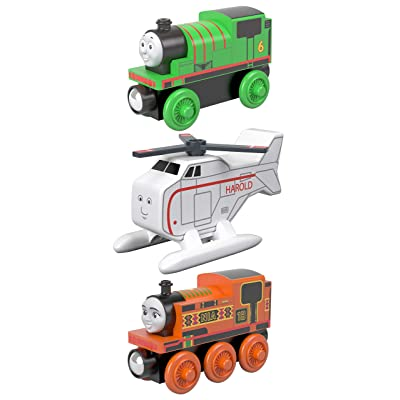 Fisher-Price Thomas & Friends Small Engine #1, 3 Pack ( Nia, Harold & Percy ): Toys & Games