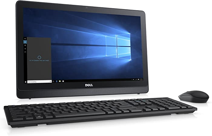 Amazon Com Dell Inspiron I3263 8500blk 21 5 Aio Desktop Intel Core I3 6100u 8gb Ram 1 Tb Hdd Computers Accessories
