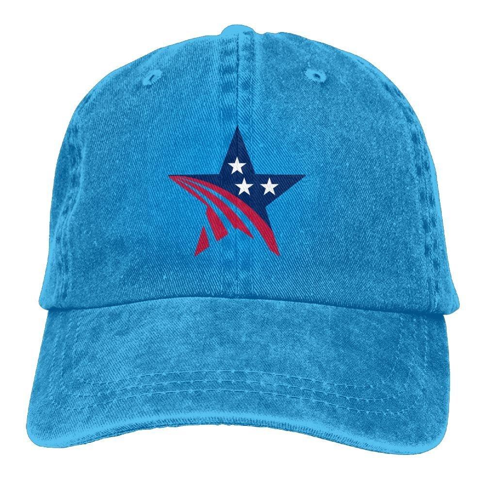 LETI LISW USA StarsClassicDad Hat Adult Unisex Adjustable Hat