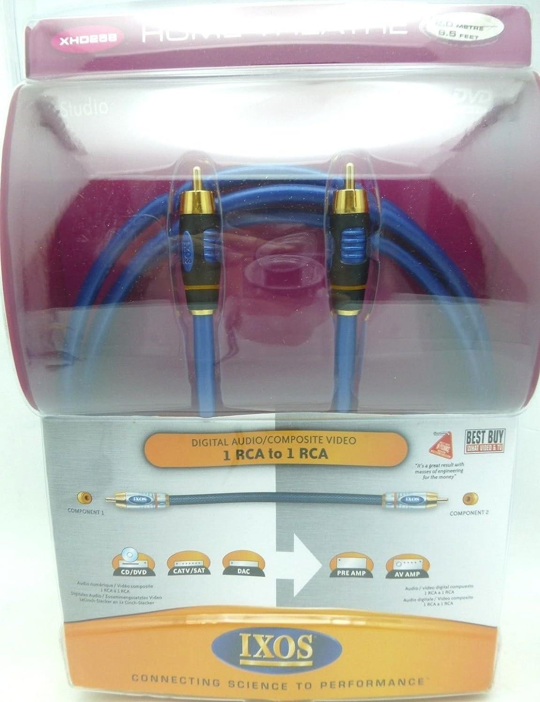 Amazon.com: IXOS XHD258 2 meter Studio Digital Coaxial Cable: Home Audio & Theater