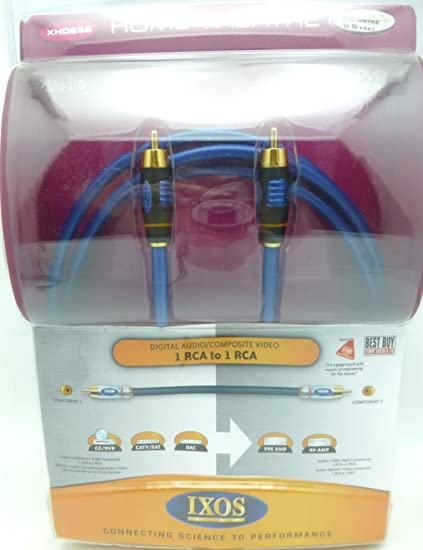 IXOS XHD258 2 meter Studio Digital Coaxial Cable