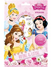 Disney Princess - Juego de Pegatinas, 700 Unidades (Anker ANKPSSTR)