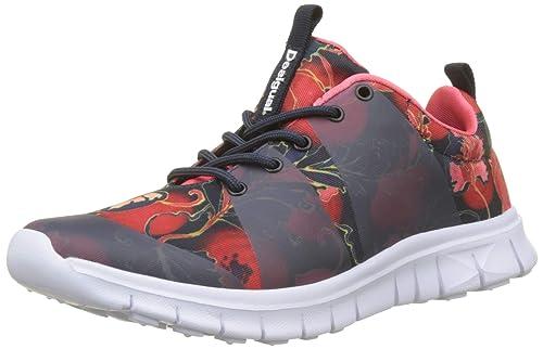 Desigual Sneaker Rubber Print Scarlet, Zapatillas para Mujer: Amazon.es: Zapatos y complementos