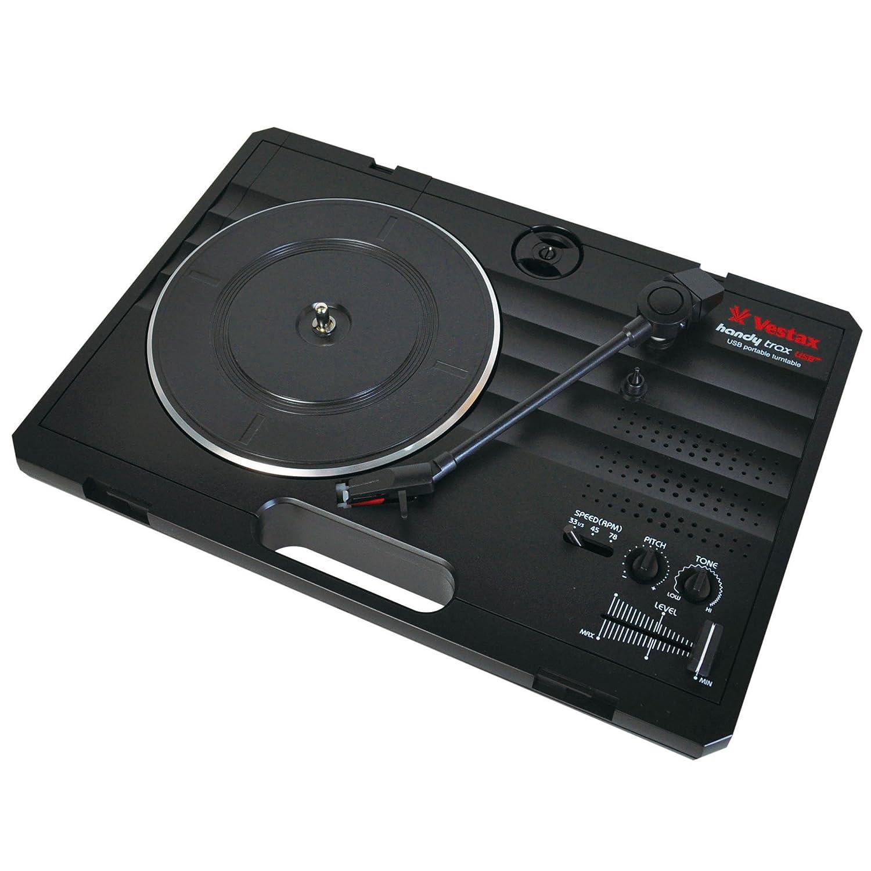 Vestax VES-HANDYTRAXUSBBLK - Plato para DJ (USB), color negro ...