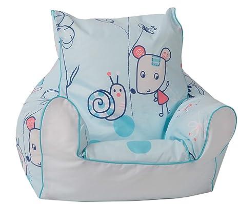 7b29eac73 Knorr-baby - Puf de bolas con forma de sillón Blue Animal: Knorrbaby ...