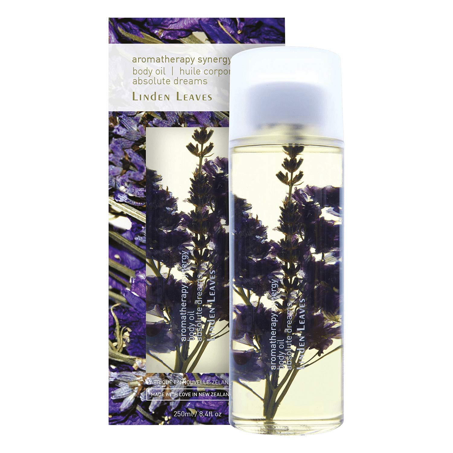 Linden Leaves Aromatherapy Synergy Absolute Dreams Body Oil, 8.4 Ounce