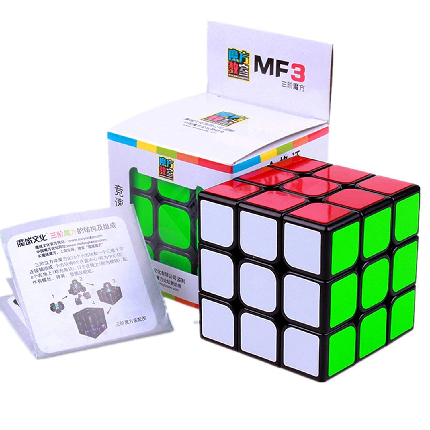 Cubo Moyu Mo Yu MF con Antipop y Stickerless xx Speed Cube