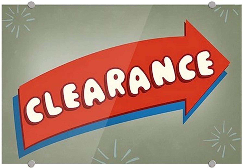 Clearance 27x18 Nostalgia Arrow Premium Brushed Aluminum Sign CGSignLab