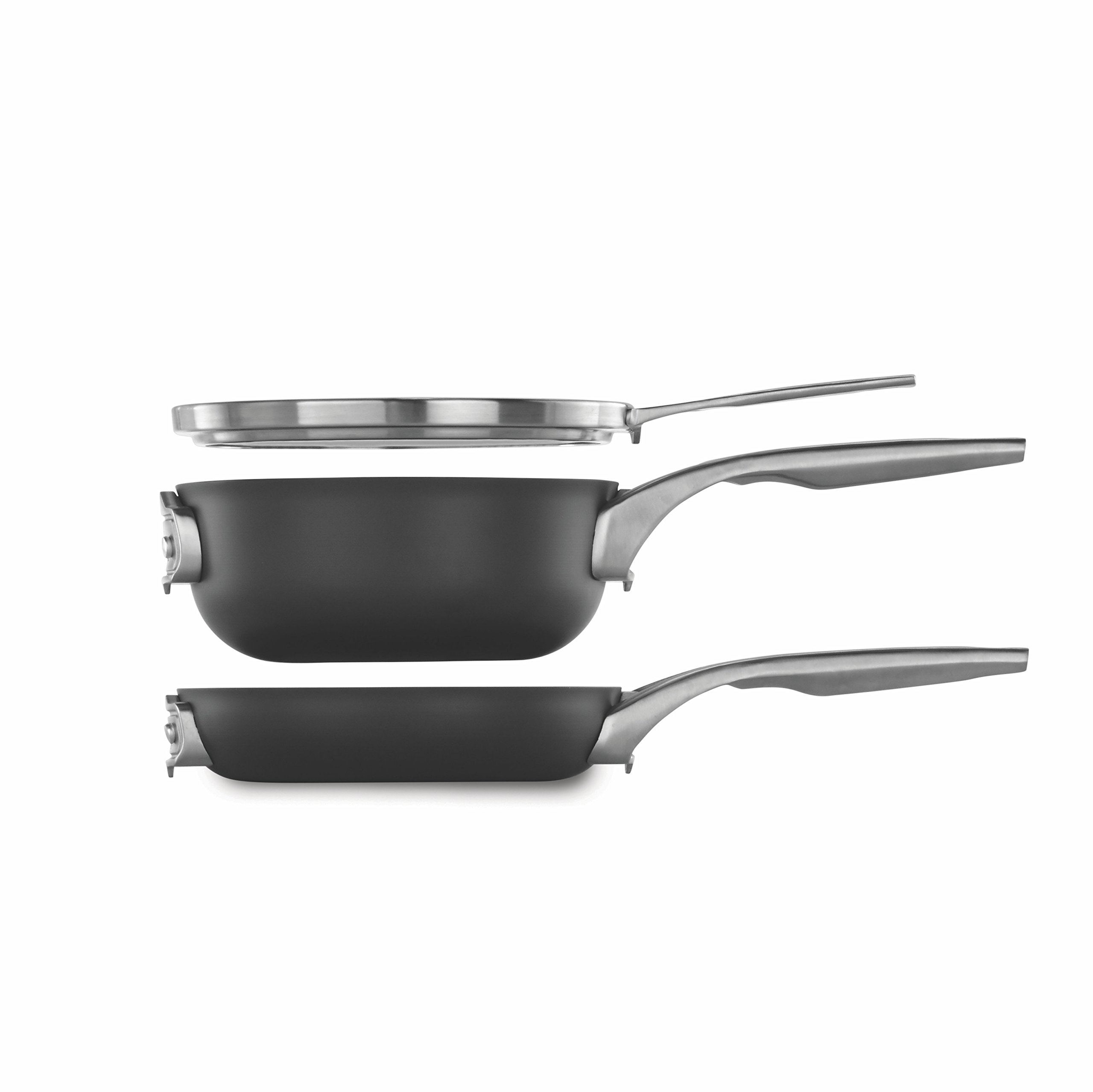 Calphalon Premier Space Saving 8'' Nonstick 3 Piece Set