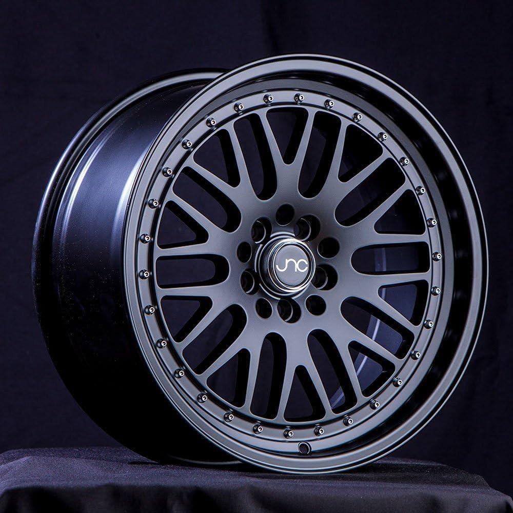 One 17x9 JNC 001 JNC001 4x100//4x114.3 20 White Machine Lip Wheel New