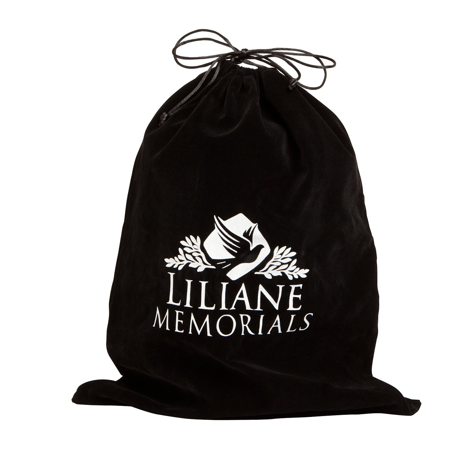 Bronze Funeral Urn by Liliane Memorials - Cremation Urn for Human Ashes - Hand Made in Brass - Suitable for Cemetery Burial or Niche - Large Size fits remains of Adults up to 200 lbs - Rosario Model