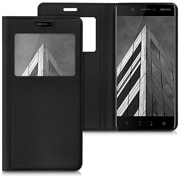 kwmobile Funda para Nokia 5 - Carcasa de [Cuero sintético ...