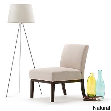 WyndenHall Seville Slipper Chair Natural