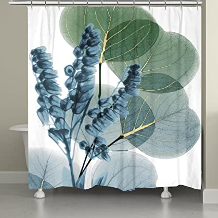 Amazon Laural Home Lily And Eucalyptus Leaf X Ray Shower