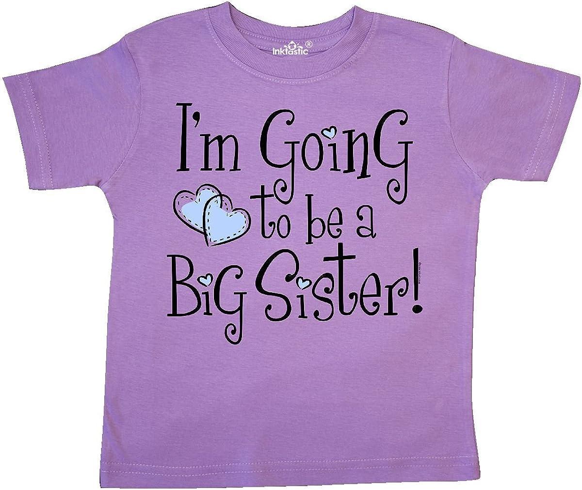 inktastic Heart New Big Sister Toddler T-Shirt