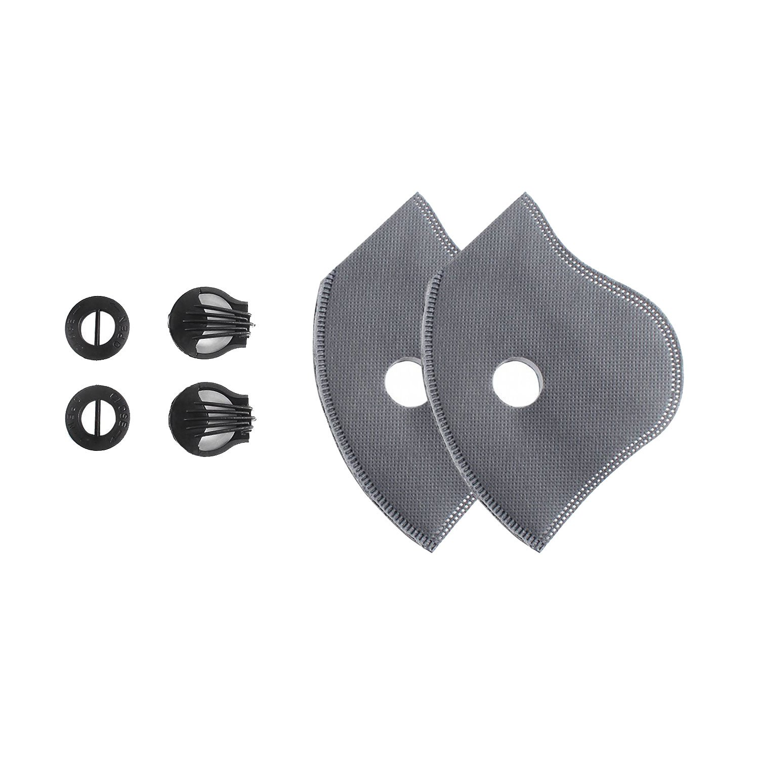 Activated Carbon Dust Mask Filter-Two Filter Two Air valve