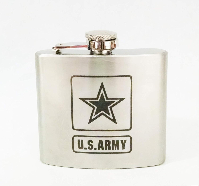 世界的に U.S. Army Engraved Stainless Engraved Army Steel 150ml Stainless Flask B079GCPX27, 演奏会衣装製作 ノンプレステージ:60688cd2 --- a0267596.xsph.ru