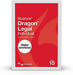 Dragon Legal Individual 15.0, Dictate Documents and Control your PC – all by Voice, [PC Download]