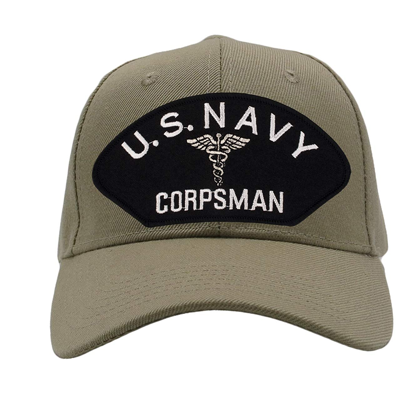 Patchtown US Navy Corpsman Hat//Ballcap Adjustable One Size Fits Most