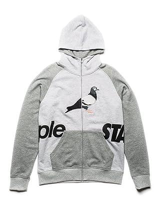 63fe51606c8 Staple Split Zip Up Hoodie (Xlarge