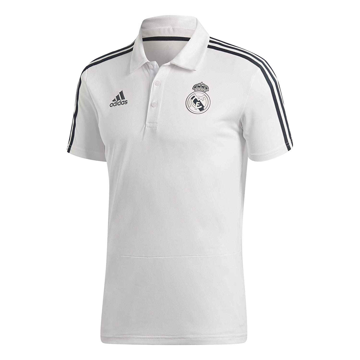 adidas Real Madrid Polo de Manga Corta, Core White/Tech Onix ...