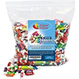 Tootsie Rolls - Tootsie Roll Fruit Chews - Tootsie Frooties, Assorted Flavored Taffies, 3 LB Bulk Candy