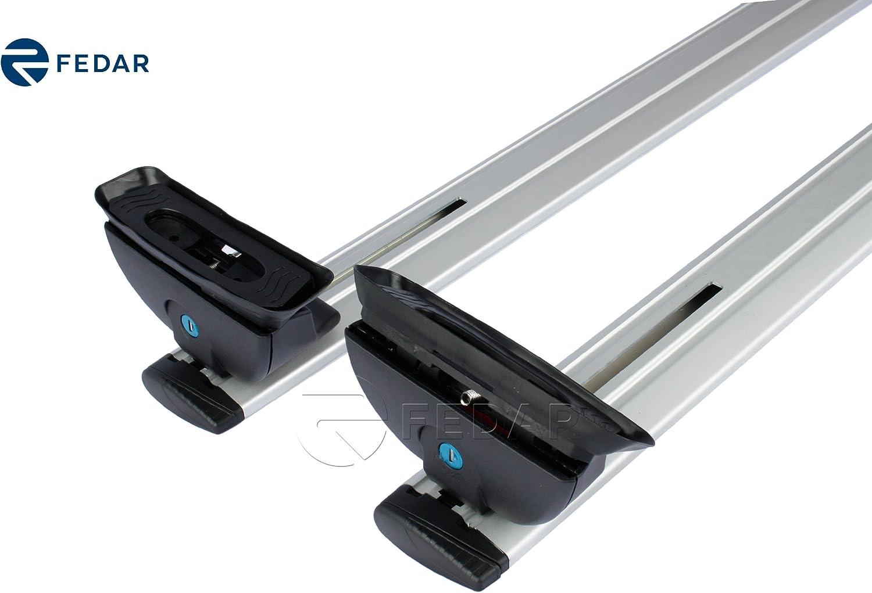 Fedar Universal Roof Rack Cross Bar Cargo Carrier with Anti-Theft Lock System 47