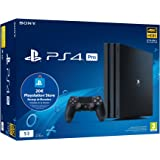 Playstation 4 Pro (PS4) - Consola de 1TB + 20 euros Tarjeta Prepago (Edición Exclusiva Amazon)