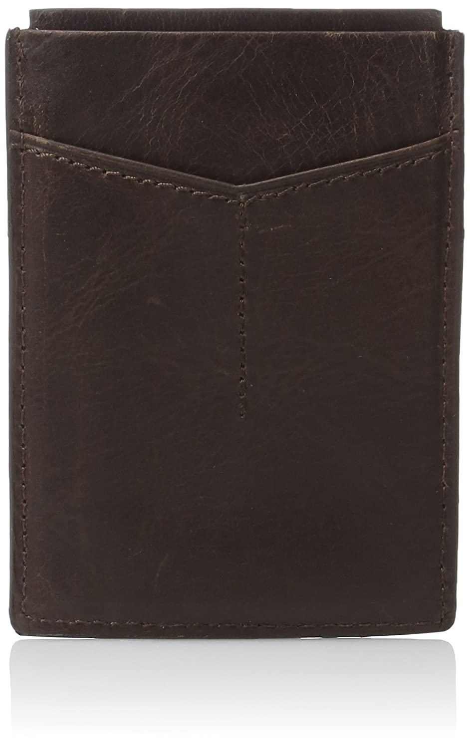 Fossil mens standard Rfid Card Case Wallet Dark Brown One Size Fossil Men' s Accessories ML3812201