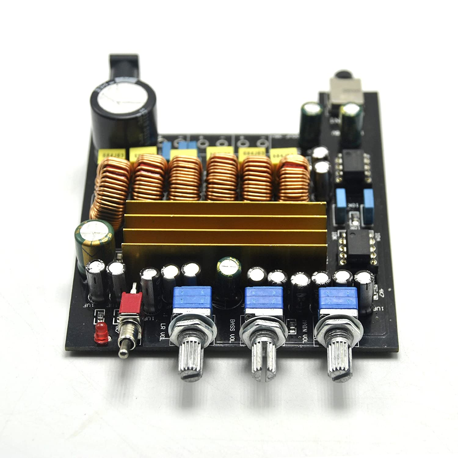 Tpa3116d2 21 Hifi Digital Subwoofer Amplifier Board 50w Speaker Pcb Circuit Hasl Electronic Printed Maker 100w Beyond Lm1875 Home Audio Theater