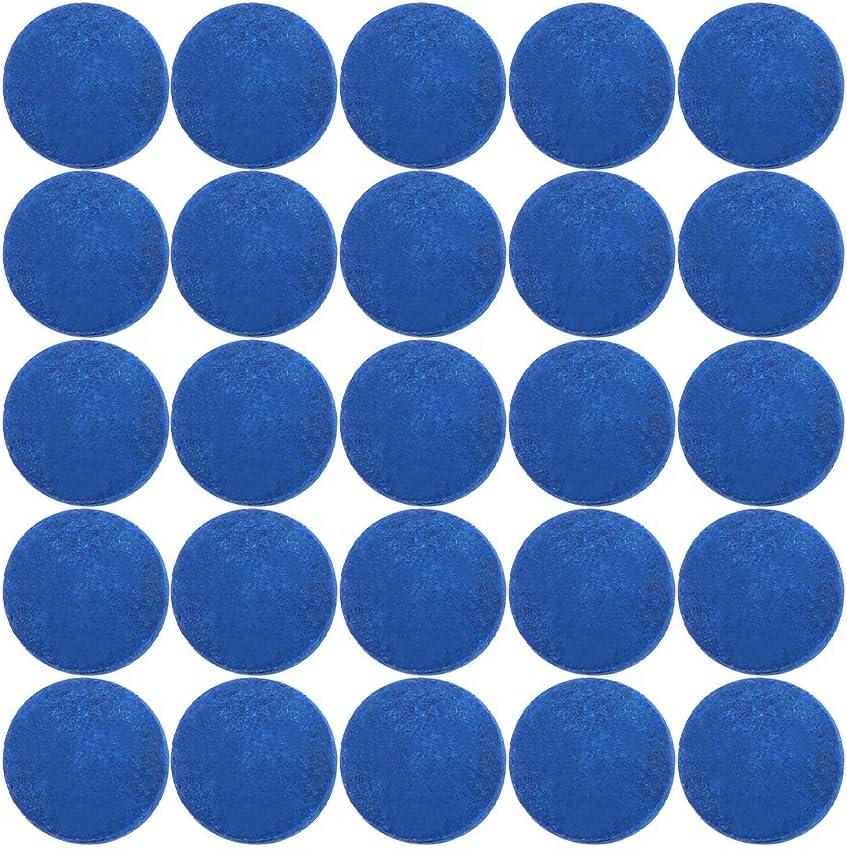 12MM Lixada 50 PCS Pool Cue Tips Billiard Cue Head 9MM 10MM 13MM