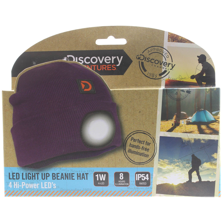 fed3069136f PMS DA BEANIE WITH LIGHT. GREY ADULTS  Amazon.co.uk  Sports   Outdoors