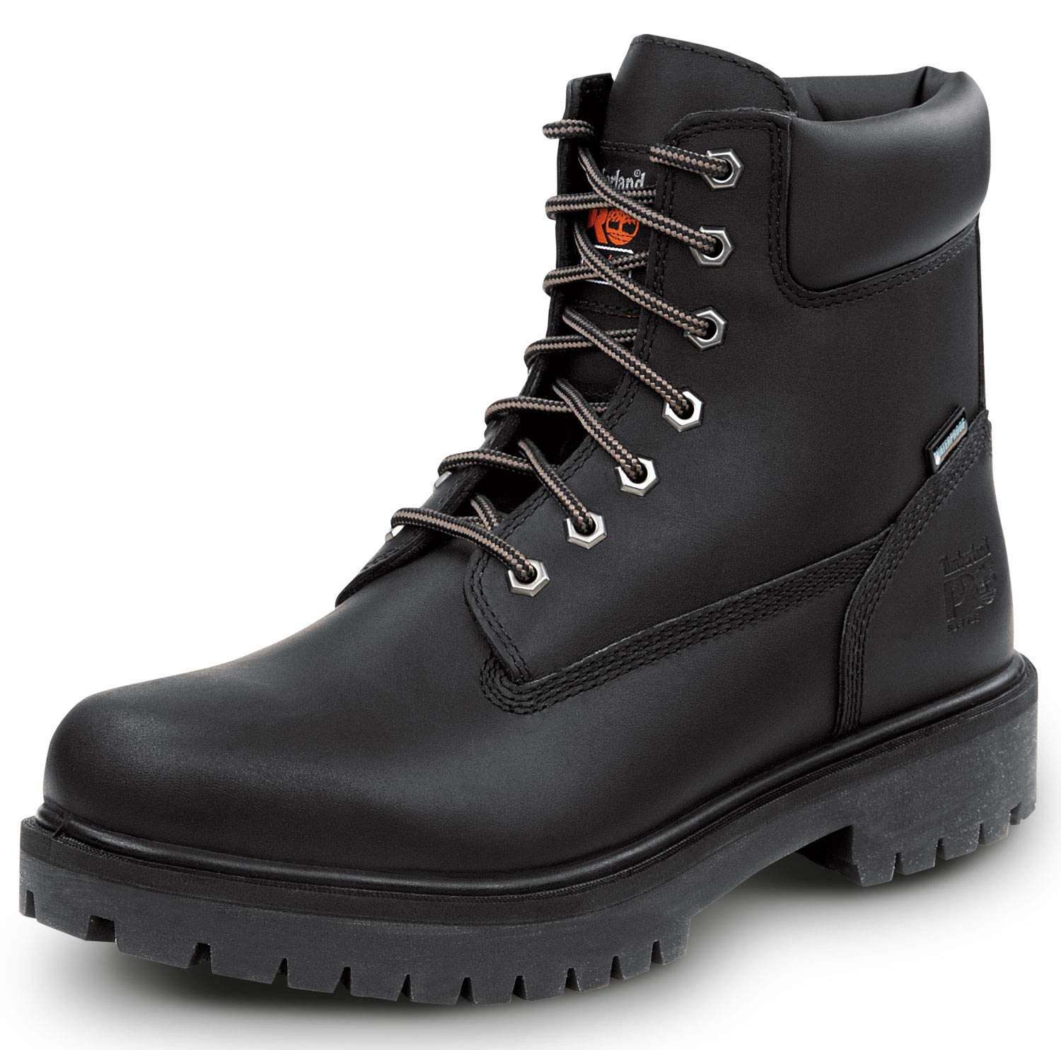 Timberland PRO 6-inch Direct Attach Men's Soft Toe Boot (14.0 M) Black by Timberland PRO