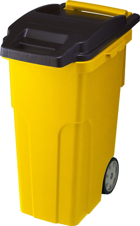 リス 『キャスター付きゴミ箱』 キャスターペール 45C4 45L 4輪 イエロー B005K6VGESイエロー 45L