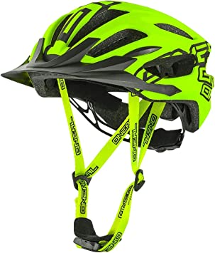 O Neal Q RL Media rígida Casco MTB Neon Amarillo All Mountain ...
