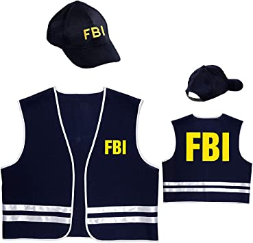 WIDMANN wdm58959 ? Disfraz agente FBI, Azul, Large: Amazon.es ...