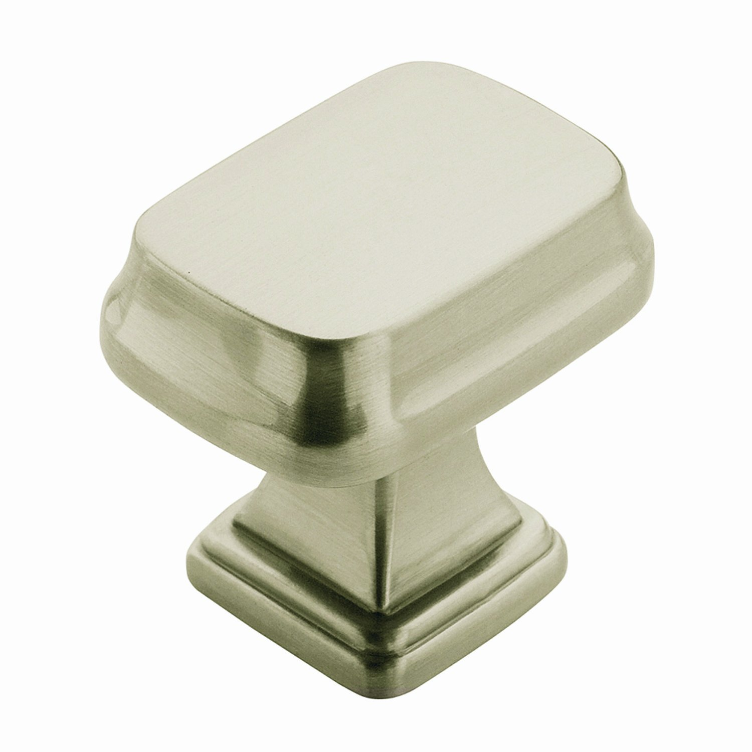 Amerock BP55340G10 Revitalize Rectangular Knob, Satin Nickel, 1 1/4 Inch    Cabinet And Furniture Knobs   Amazon.com