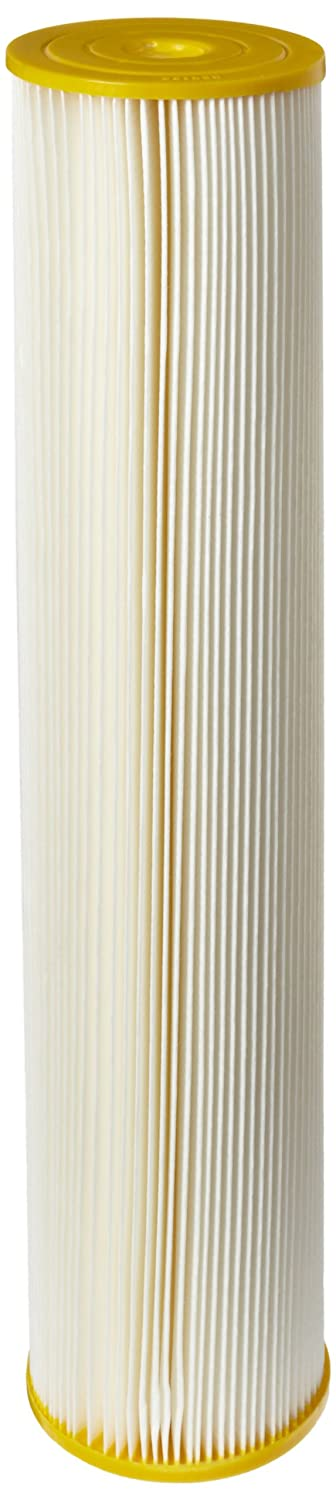 Pentek ECP50 20BB Pleated Cellulose Polyester Filter Cartridge 20 x 4 1 2 50 Microns